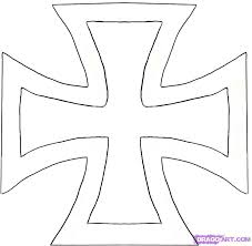 how to draw an iron cross step by step symbols pop culture