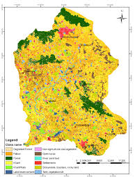 Hyderabad India Map by Micro Level Drought Vulnerability Assessment In Peddavagu Basin A