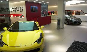 ferrari showroom dvm group ferrari
