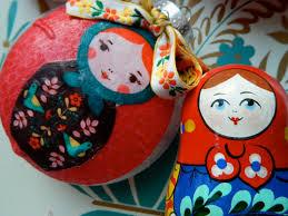 nesting doll diy ornament nest ornament and dolls