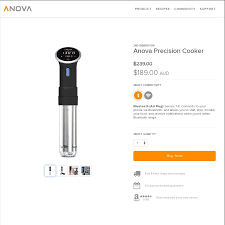 Wifi Cooker by Anova Wi Fi Sous Vide 189 Delivered From Anova Culinary Ozbargain
