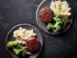 mini meatloaf cooking light meatloaf burger steaks with tomato gravy recipe cooking light