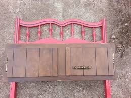 Making A Kitchen Cabinet Headboard And A Kitchen Cabinet Make A Great Bench With Storage