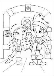 jake and the neverland pirates coloring pages coloringsuite com