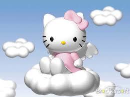 download free kitty cartoon screensaver kitty cartoon