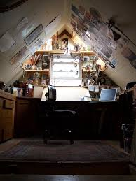 cute studio attic space personal space home office attic
