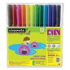 classmate product classmate colour crew sketch pens 12 s ppds grocery