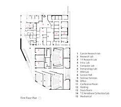 Computer Room Floor Plan by Gallery Of Chaparral Science Hall Yazdani Studio 11