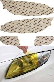 bmw headlights 3 series bmw 3 series coupe 07 10 yellow headlight covers