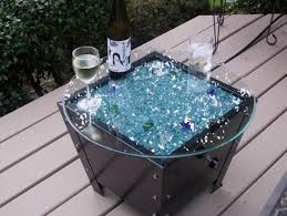 Propane Fire Pits With Glass Rocks by Propane Fire Pit Glass Rocks By Moderustic Make Fire Pits