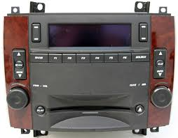 2007 cadillac cts problems 2005 2007 cadillac cts factory am fm stereo cd player radio