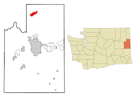 Spokane Map Deer Park Washington Wikipedia