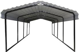 Walmart Car Port Arrow Black Eggshell Steel Carport Walmart Canada