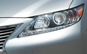 lexus rx300 headlight 2013 lexus es 350 and es 300h first test motor trend