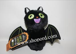 hallmark drop n greet bernie the bat sound motion halloween plush
