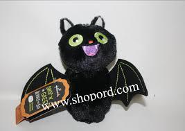 hallmark drop n greet bernie the bat sound motion halloween plush