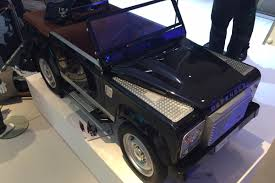 land rover bespoke bespoke land rover defender pedal car revealed auto express