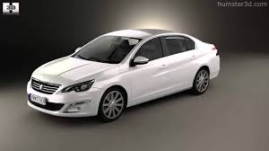 peugeot new models peugeot 408 cn 2014 by 3d model store humster3d com youtube