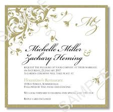 wordings sample wedding invitation template free download with