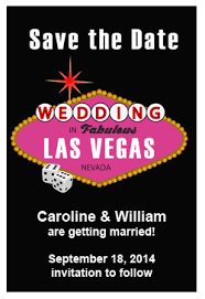 wedding save the date magnets mod vegas personalized save the date magnet las vegas save the