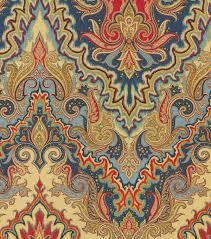 home decor print fabric waverly paisley verse jewel joann