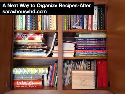 How To Do Spring Cleaning A Neat Way To Organize Recipes