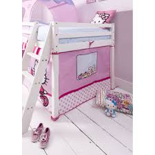 Spiderman Bed Tent by Hello Kitty Mid Sleeper Cabin Bed With Tent Noa U0026 Nani