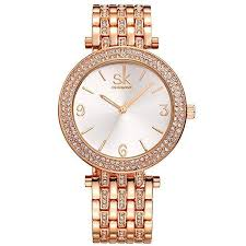 bracelet gold jewelry watches images Women watches girl stainless steel wrist watch fashion jewelry jpg