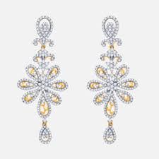 diamond earrings india online jewellery shopping buy diamond earrings pendant