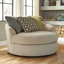 Living Room Chairs That Swivel Benchcraft Casheral Oversized Swivel Chair For The Home