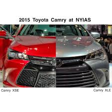 toyota camry 2015 2015 toyota camry xse xle at nyias toyota pinterest 2015