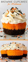 Halloween Cupcakes Ghost Brownie Cupcakes Halloween Brownies Brownie Cupcakes And