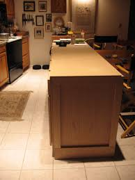 diy kitchen island from cabinets diy kitchen island cabinet open