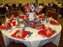 Fourth Of July Table Decoration Ideas July 4th Table Decorations Flag Centerpiece Independence Day