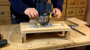 building a planing jig for a wood router a woodworkweb com