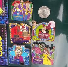 parade pins paint the pin collection disney pins