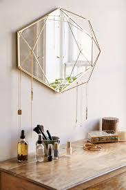 urban outfitters wall decor geometric mirror from urban outfitters decoist awesome stuff