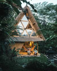 unique eco project in bali rented on airbnb instagram