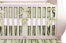 Crib Bedding Green Silk Green Crib Bedding Set Crown Interiors