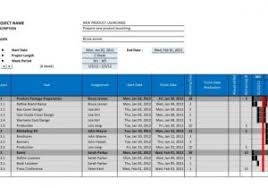 gantt chart in excel 2010 template and spreadsheet templates page
