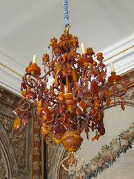 Amber Chandelier Silver Lions At The Rosenborg When Kath U0027s Travelling