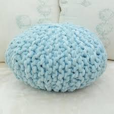 knit pouf ottoman kreyol essence