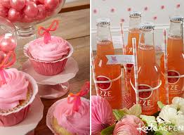 Drinks For Baby Shower - 8 darling details for a tutu cute baby shower kate aspen blog