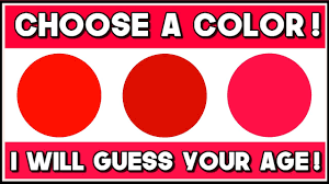 this color test will try to guess your mental age youtube