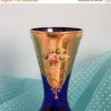 Antique Cobalt Blue Vases Best Cobalt Blue Vases Vintage Products On Wanelo