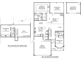 Awesome One Story House Plans Single Story Duplex Floor Plans Best Ideas About Duplex House