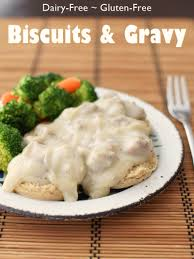 cream biscuits and gravy dairy free gluten free sneaky