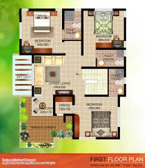 Contemporary Floor Plan by 4 Bedroom House Kerala Floor Plan L F4a6b5527832fcd5 Jpg 1024