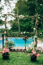 Wedding In The Backyard Backyard Flamingo Themed Wedding Bespoke Bride Wedding Blog