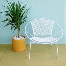 Mid Century Modern Patio Chairs Pair Of Salterini Hoop Mid Century Patio Lounge Chairs Patio